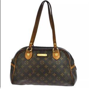 Authentic Louis Vuitton Shiulder Bag Satchel hobo